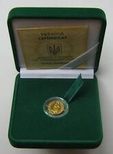 Rari Oro Moneta Ucraina 2 Grivna 2007 Marmot MARMOTA BOBAK