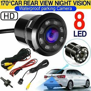 170° HD Night vision CCD Waterproof Car Rear View Reverse Backup Parking Camera