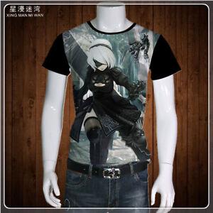 Praktisch Cosplay Nier Automata Anime Manga T-shirt Kostüme Polyester Neu Merchandising & Fanartikel Manga & Anime