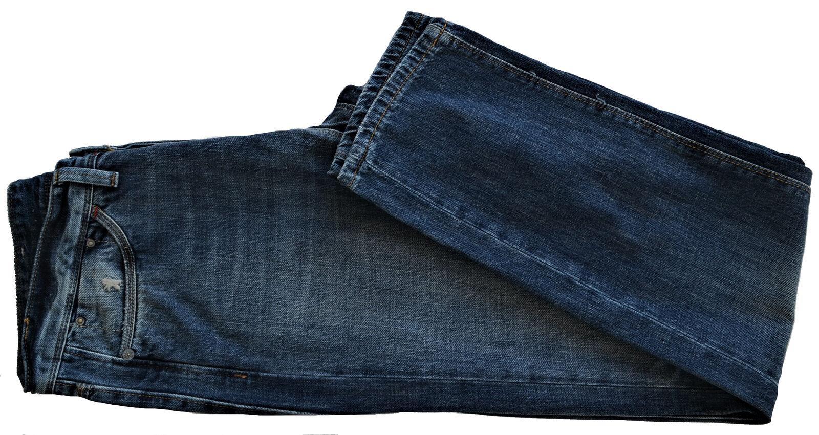 Jaens men blue Jaggy Jeans Men blue Mcqueen Slim Bugi Fisso bluee