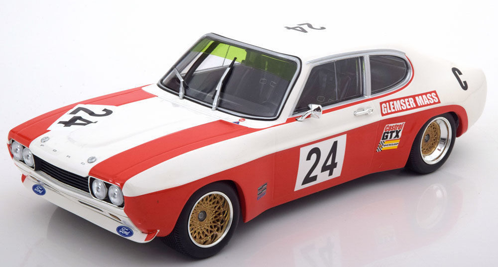 MINICHAMPS 1971 FORD CAPRI RS 2600 Class Winner 9 H Kyalami  24 1 18 limited edition 450pcs