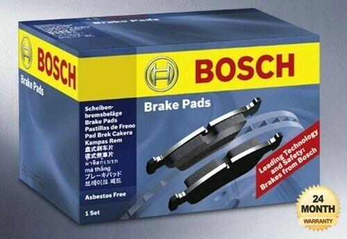Bosch Essieu Avant Plaquettes de frein Set pour MITSUBISHI COLT VI 1.5 DI-D 2004-2012