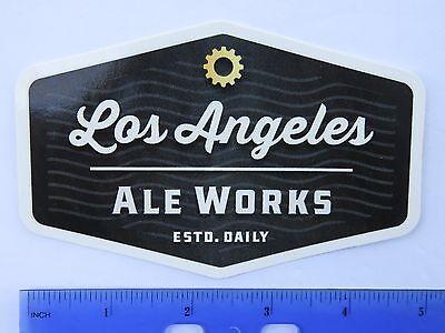 Breweriana, Beer Humble Bière Autocollant ~ Los Angeles Ale Fonctionne ~ Hawthorne,california; Follow
