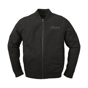 Indian Motorcycle Men's Casual Bomber Jacket, Black