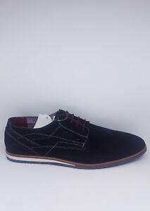 Details zu Deichmann AM Shoe Company Herren Schnürer Leder BlauGr.40 Neu&Ovp