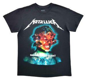 Metallica-Hardwired-To-Self-Destruct-Tour-Tee-Black-Size-S-Adult-T-Shirt-Rock