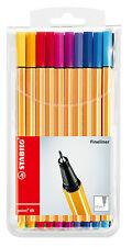 Stabilo Fineliner point 88 Etui mit 20 Stiften 0,4 mm