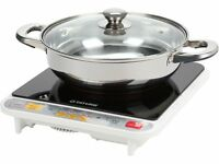 Tatung 1500W Induction Cooker with Stainless Steel Pot (TIH-F1500HU)