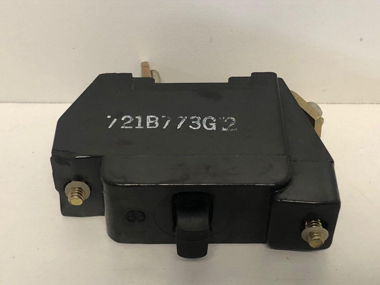 General Electric Ge 721B773G1 Contact Block