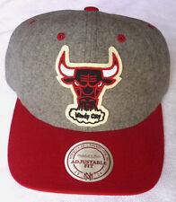 wholesale dealer f7d42 85d10 item 5 CHICAGO BULLS NBA MITCHELL   NESS VINTAGE 2-TONE SNAPBACK CAP HAT  NEW! GRAY RED -CHICAGO BULLS NBA MITCHELL   NESS VINTAGE 2-TONE SNAPBACK  CAP HAT ...