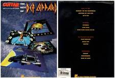 """DEF LEPPARD """"The Best Of"""" (PARTITIONS / SHEET MUSIC) 1993"""