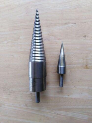 Kegelspalter für Bohrmaschine Holzspalter Drillkegel Großer und Kleiner Kegel