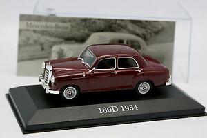 Mercedes 180 D Red 1954 Ixo Press 1//43