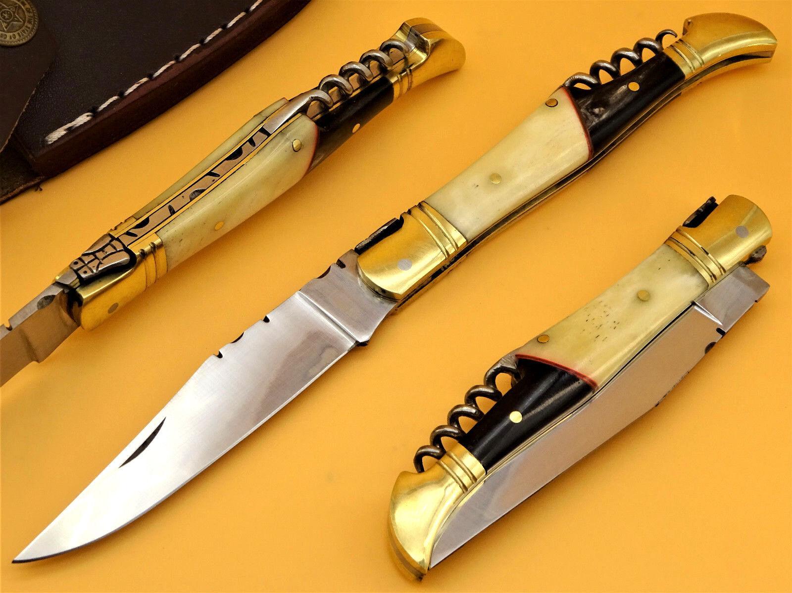 Couteau de Poche Laguiole Laguiole Laguiole Couteau de poche couteau pliant laguiolmesser couteau de chasse (rv3) 8035aa