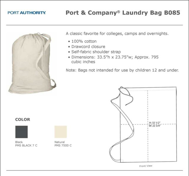 B085 Port Authority Laundry Bag