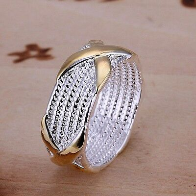 New wholesale Women Ring fashion Jewelry silver plated Size 6 7 8 9