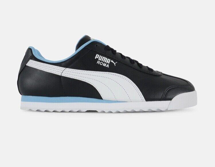 NIB Men's PUMA SIZE 11 ROMA BASIC sneakers night sky 353572-87