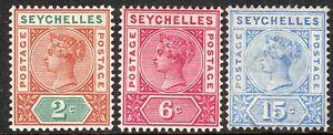 Seychelles-1897-part-set-crown-CA-Die-II-mint-SG28-29-30-3