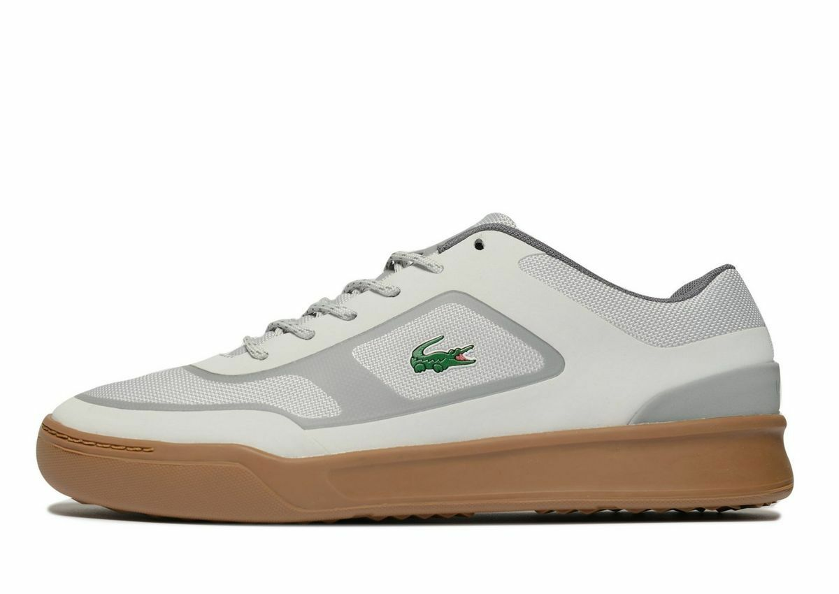 100% Genuine Lacoste Explorateur hommes Trainers(UK 8.5/EUR 42.5/US 9.5) Gris