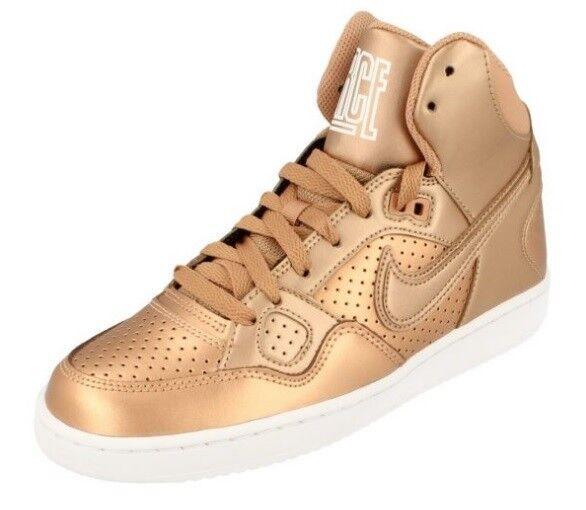 Nouveau Débardeur Filles Filles Filles NIKE Son Of Obliger Mid High Sneaker Metallic Bronze UK 5.5 6 6.5- 0523c3