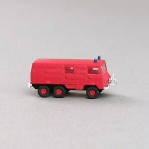 1-160-Spur-N-Kleinserie-Pinzgauer-714-Feuerwehr-Kommandowagen-KLF-gebaut-bemalt