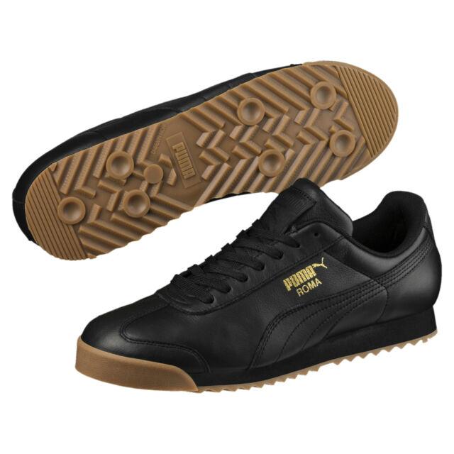 PUMA Men's Roma Classic Gum Sneakers