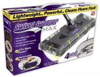 Ontel Products Swsmax Max Cordless Swivel Sweeper, New, Free Shipping