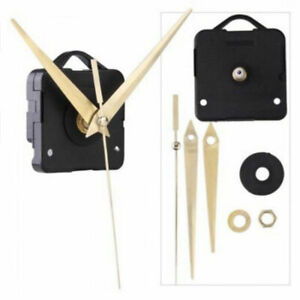 Quarz-Wanduhr-Uhrwerk-Mechanik-Reparatur-DIY-Teil-Kit-10-Spin-W1I7-mm-B4Q2