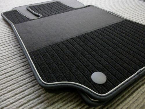 NUBUKBAND NEU Lengenfelder Rips Fußmatten für Mercedes Benz GLE Coupe C292