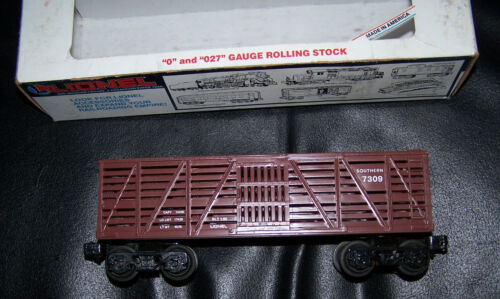 Box shows wear. 1985 NIB! LIONEL SOUTHERN STOCK CAR #6-7309