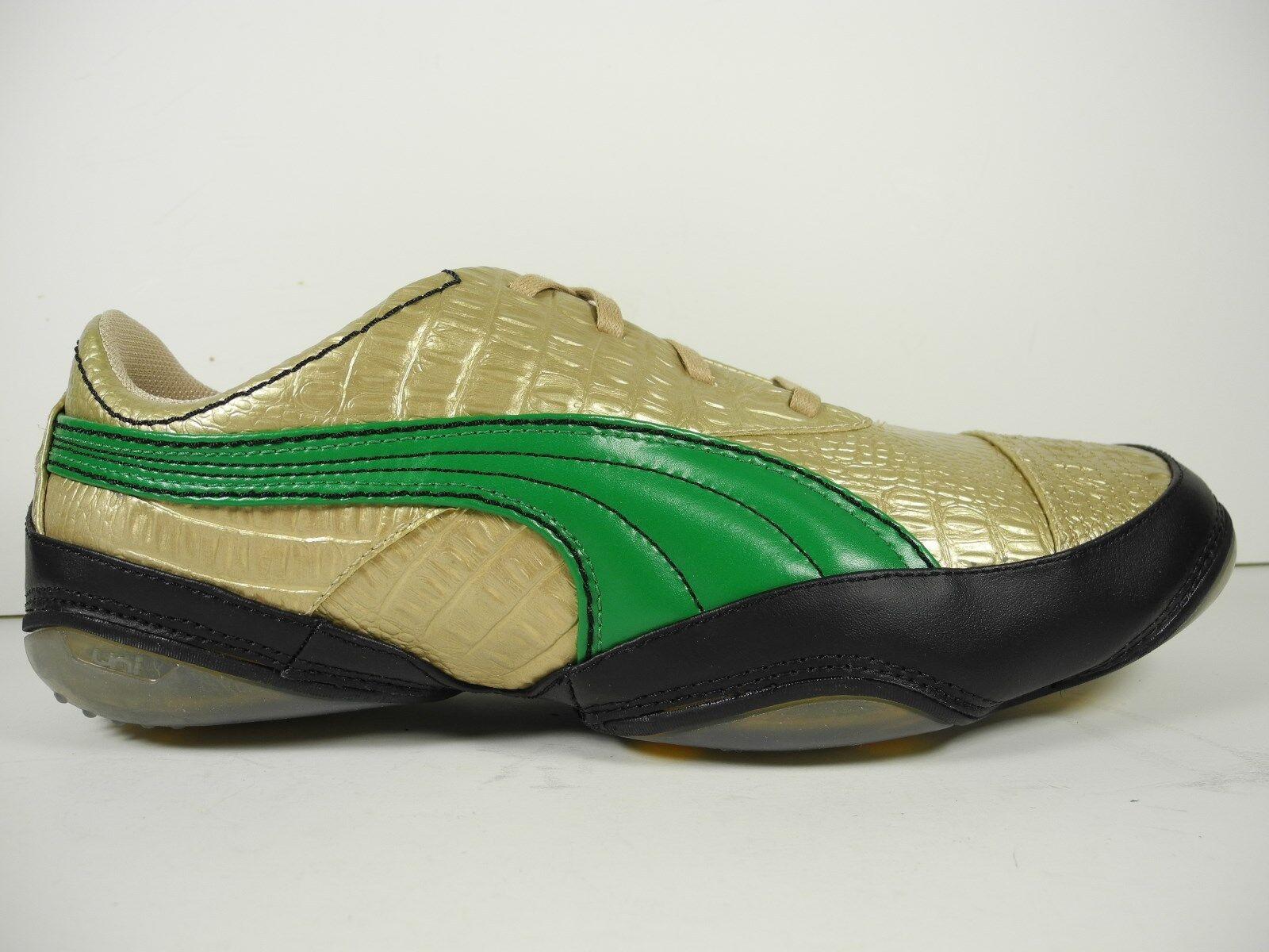 2d8d38d8c19c6 NEW Puma USAN METALLIC CROC CROC CROC Men s Shoes Size US 11.5 62825c