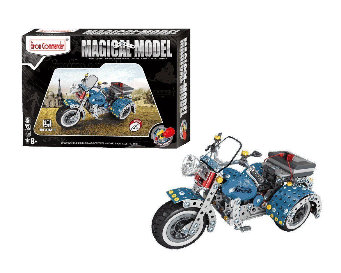 Iron Commander 816I-9. Motorrad Elektrische. Kit Metall der 709 Teile
