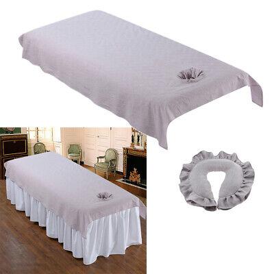 PräZise Waschbare Massageliege Bettdecke 120x200cm Mit Spa Massagekissen Set Angenehme SüßE