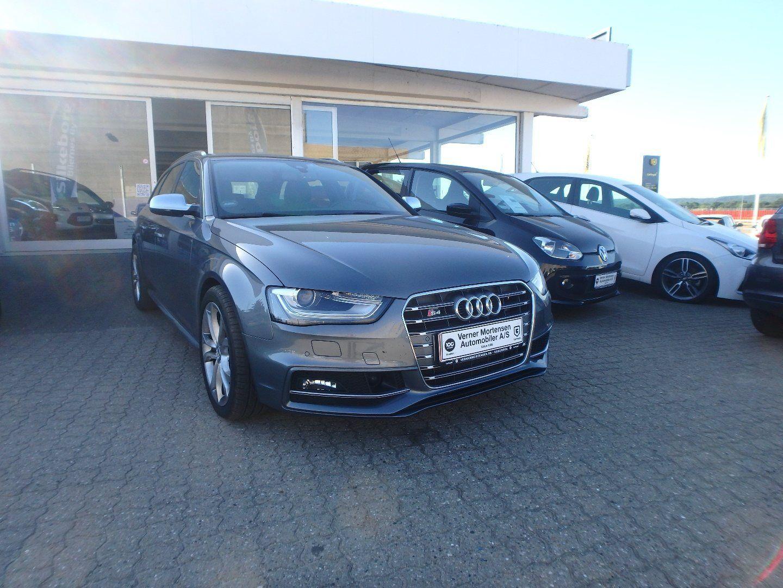 Audi S4 3,0 TFSi Avant quattro S-tr. 5d - 469.780 kr.