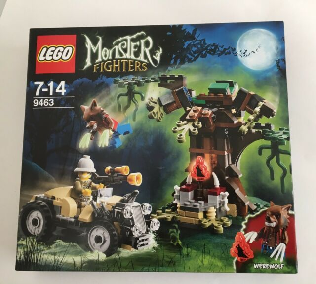 LEGO 9463 MONSTER FIGHTERS THE WEREWOLF MIB Retired AusSeller Sealed