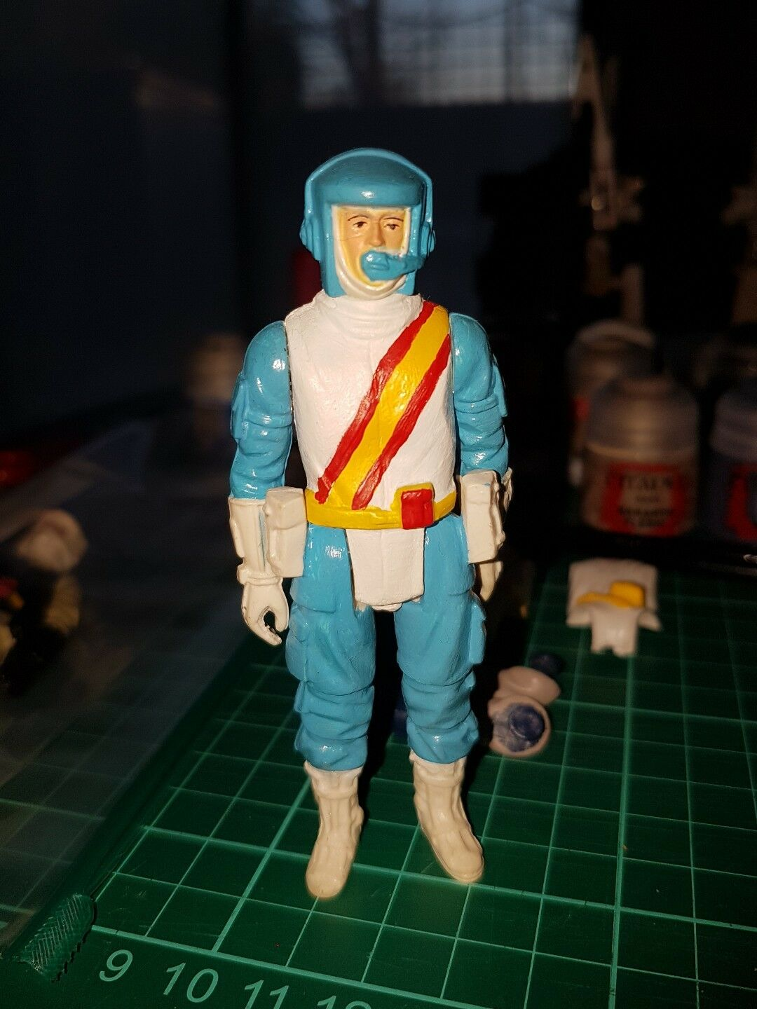 Carnaval Noel Palitoy Action Force Force Force Custom SWS special armes Force Team 7f6b17