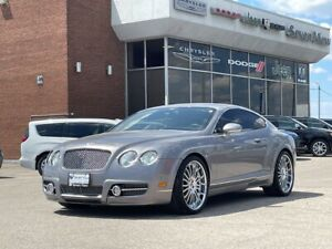 2005 Bentley Continental GT NAVI/UPGRADED 21 INCH WHEELS/ONLY 75,000 KM'S