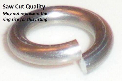 ORANGE Anodized Aluminum JUMP RINGS 500 5//32 18g SAW CUT Chainmail chain mail