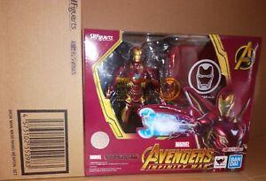 Bandai Sh Figuarts Iron Man Mark 50 Nano Set d'Armes Avengers Infinity War !!