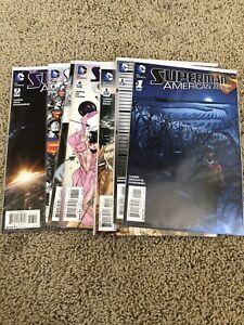 Superman-American-Alien-1-2-3-4-5-6-7-Complete-Comic-Book-Set-DC-Low-Print-Run