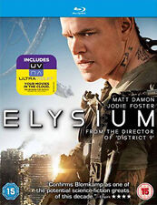 ELYSIUM - BLU-RAY - REGION B UK
