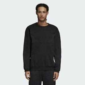 Details about Adidas Originals NMD Crew Neck Sweatshirt Black Pullover Mens Retro DH2260 sz. M