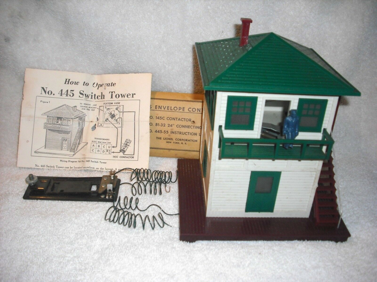 Prime Post War Lionel Operating Switch Tower In Orign Box W Contact Bar Wiring Digital Resources Cettecompassionincorg