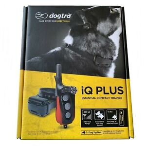Dogtra IQ Plus Rechargeable 400 Yard Remote Dog Training Collar Expandable