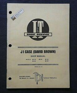 1985 CUSTODIA DAVID BROWN 1190 1290 1390 1490 1690 TRACTOR I & T SERVICE SHOP