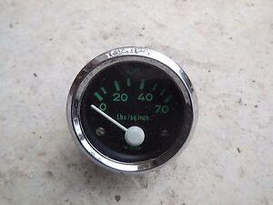 wire harness plug porsche 911 porsche 356 oil pressure gauge vdo 6v ebay porsche 911 carrera wiring diagram #9
