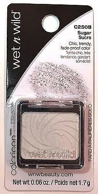 Wet n Wild Coloricon Base Eye Shadow Single # C250B Sugar CARDED NEW SEALED
