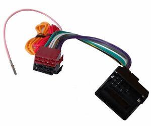 Adaptateur-faisceau-cable-fiche-ISO-pour-autoradio-compatible-Opel-Astra-H-Corsa