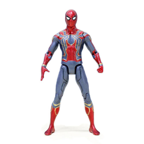 Marvel Spider Man Iron Spider Avengers Infinity War 7'' Action Figure Toy 23cm