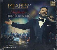 2 CD's 1 DVD Mijares 30 SINFONICO Desde Palacio Bellas Artes NEW 2016, WARNER !